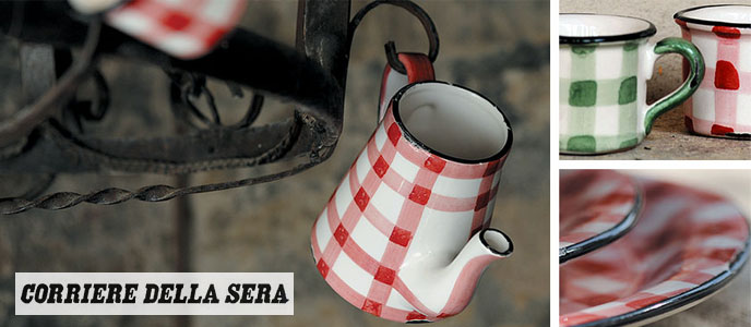 Ceramiche virginia virginia casa sul corriere della sera for Corriere della sera casa